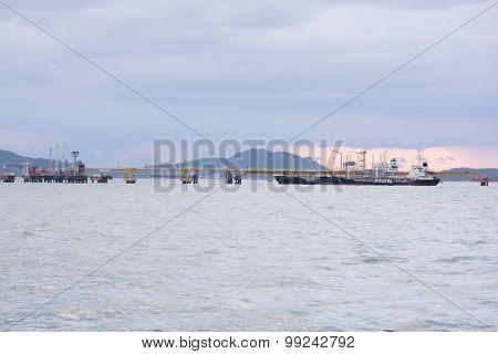 Pier For Loading Of Coal Ships