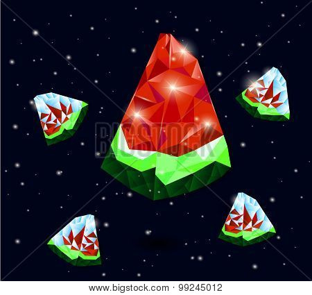 watermelon space