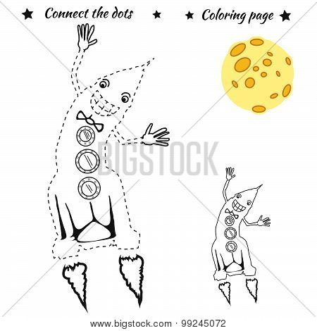 Connect the dots picture
