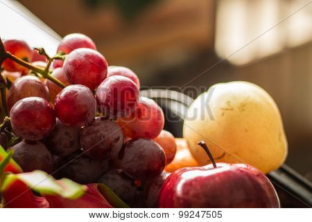 Fruits At The Market Place..