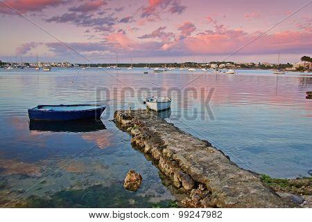 Sunset In Porto Colom