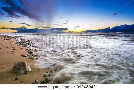 Wonderful beaches on the island of Maui, Hawaii, Hawaii, United States of America