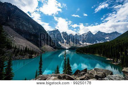 Wonderful views in Banff National Park, Alberta, Canada