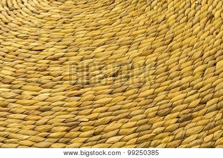Texture of natural wickerwork  material
