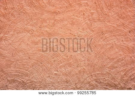 Red-brown Rough Plaster Wall Texture
