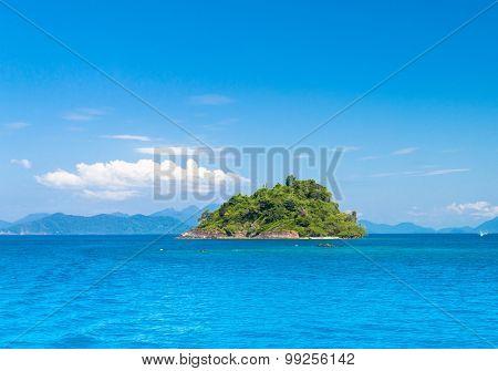 Idyllic Seascape Blue Paradise