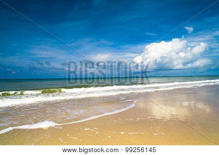 White Sand Divine Coastline