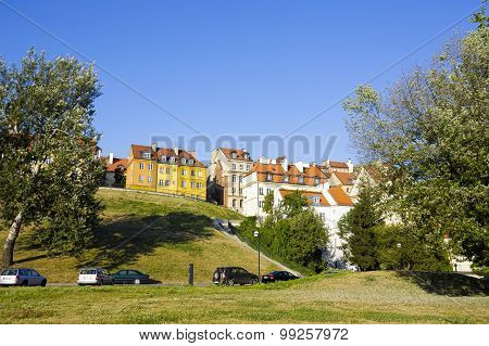 Townhouses At The Warsaw's Old Town