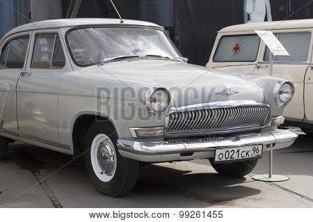 Soviet retro car GAZ