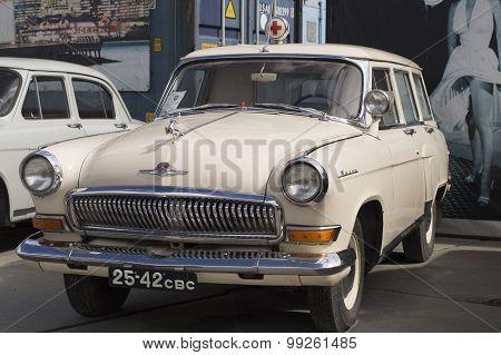 Soviet retro car GAZ Volga