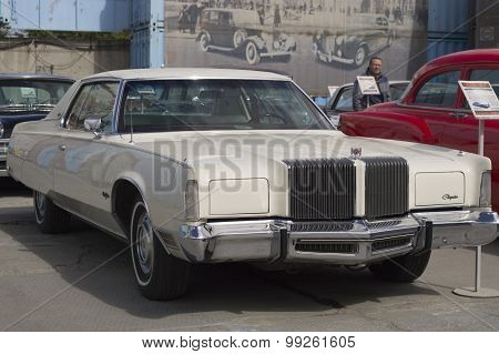 Retro car Chrysler New Yorker 1976