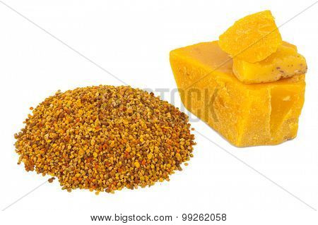 Bee pollen and wax