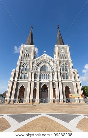 Roman Catholic Diocese Or Cathedral Of The Immaculate Conception, Chanthaburi, Thailand.