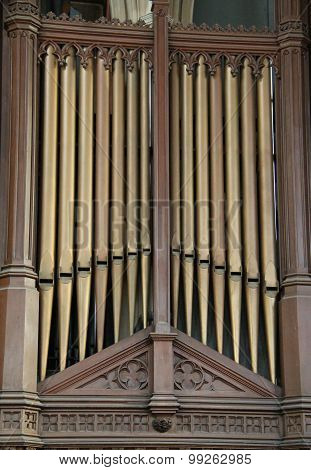 Church Organ.