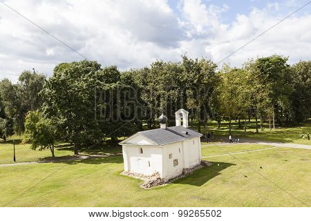 The church Andrew Stratelates. Velikiy Novgorod. Russia.