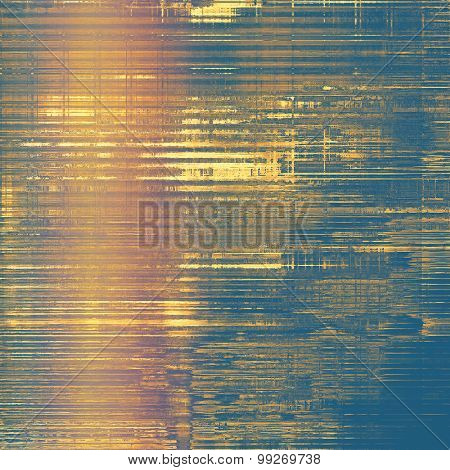 Old abstract grunge background, aged retro texture. With different color patterns: yellow (beige); brown; purple (violet); blue