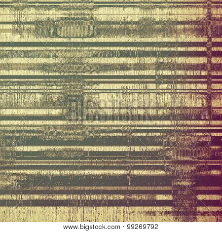 Abstract grunge textured background. With different color patterns: yellow (beige); brown; purple (violet); gray