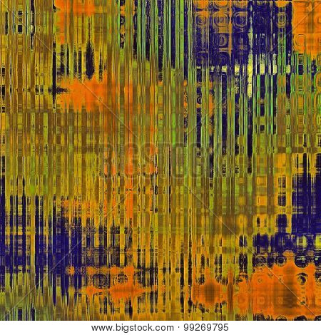 Grunge texture, may be used as retro-style background. With different color patterns: yellow (beige); brown; green; blue