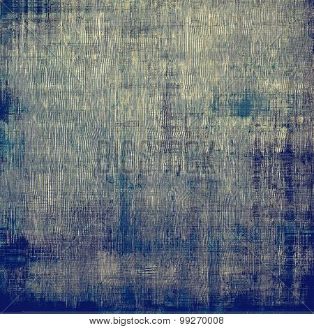 Old abstract grunge background for creative designed textures. With different color patterns: brown; gray; blue; cyan