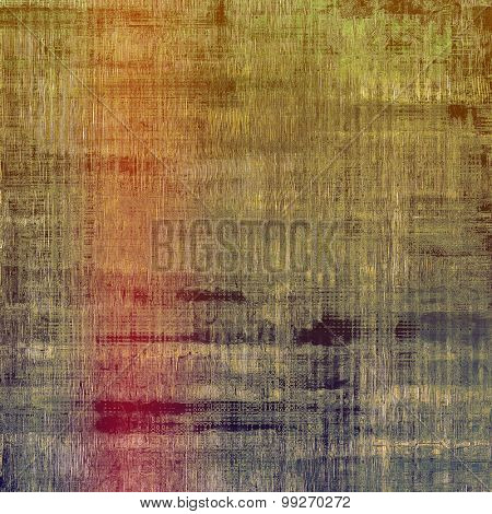 Abstract grunge textured background. With different color patterns: yellow (beige); brown; purple (violet); green