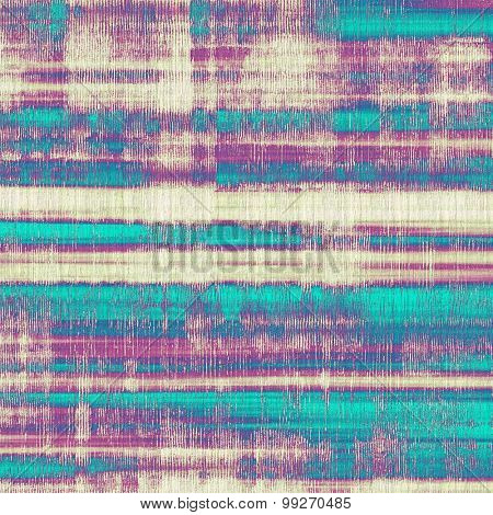 Vintage old texture for creative retro background. With different color patterns: yellow (beige); purple (violet); blue; cyan