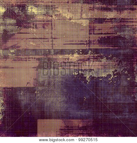 Grunge texture. With different color patterns: brown; purple (violet); blue; pink
