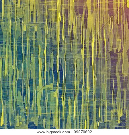 Abstract grunge textured background. With different color patterns: yellow (beige); purple (violet); green; blue