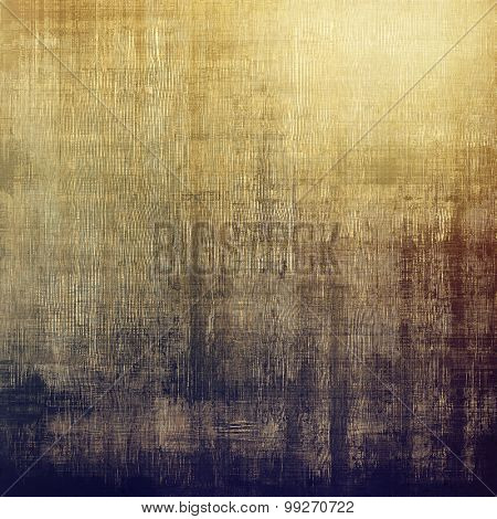 Colorful designed grunge background. With different color patterns: yellow (beige); brown; purple (violet); gray