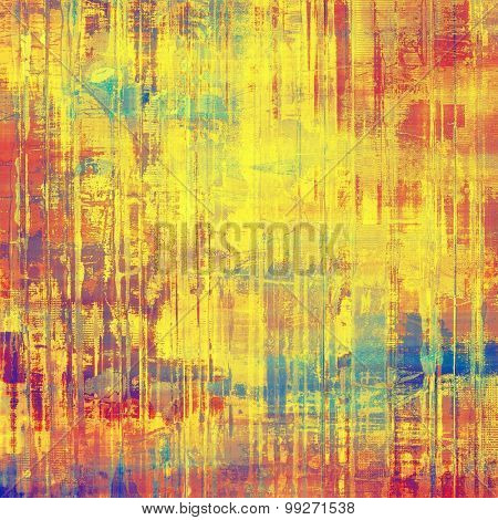 Abstract grunge background. With different color patterns: yellow (beige); red (orange); purple (violet); blue