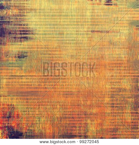 Abstract grunge background of old texture. With different color patterns: yellow (beige); brown; red (orange); purple (violet)