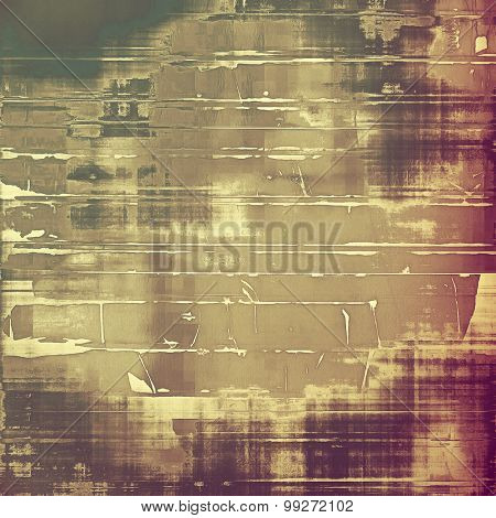 Designed grunge texture or retro background. With different color patterns: yellow (beige); brown; purple (violet); gray