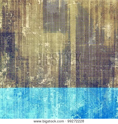 Background in grunge style. With different color patterns: yellow (beige); brown; purple (violet); blue