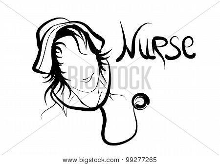 Nurse Silhouete