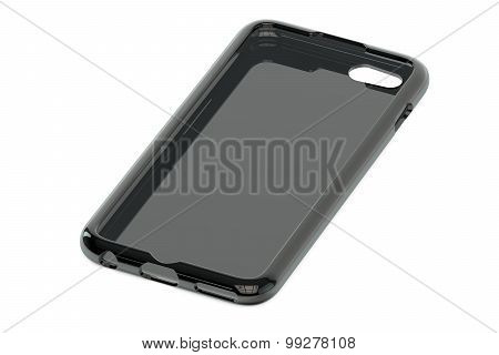 Black Mobile Phone Plastic Case
