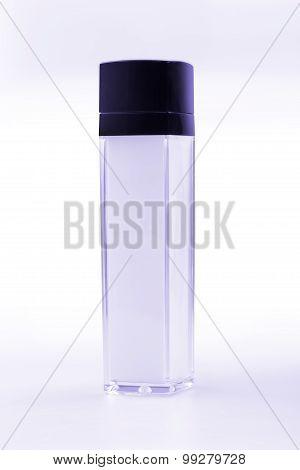 Purple Cosmetic Vial