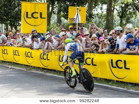 The Cyclist Simon Yates - Tour De France 2015