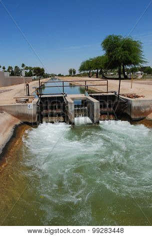 Canal System In Arizona