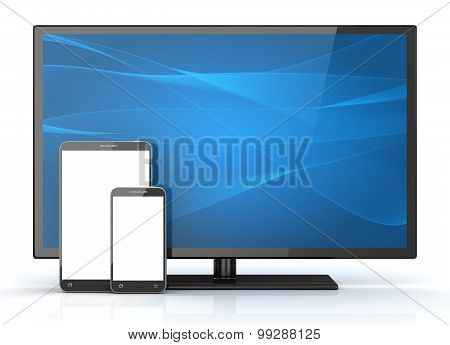 Hd Television And Phone
