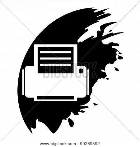Printer Black Blot Pointer