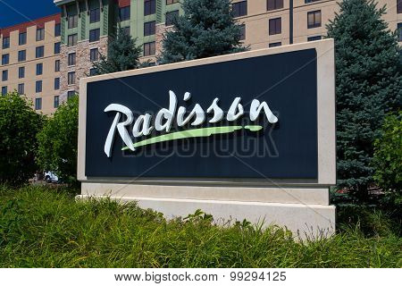 Radisson Hotel And Sign