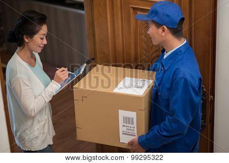 Receiving order