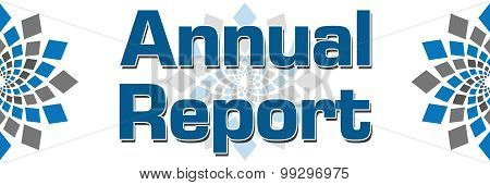 Annual Report Blue Grey Elements