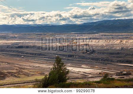Coal mine,Most,Czech Republic