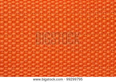 Orange color polyester texture