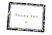 foto of thank you card  - thank you note captured using the natural light - JPG
