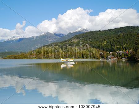 Green Lake in Whistler BC