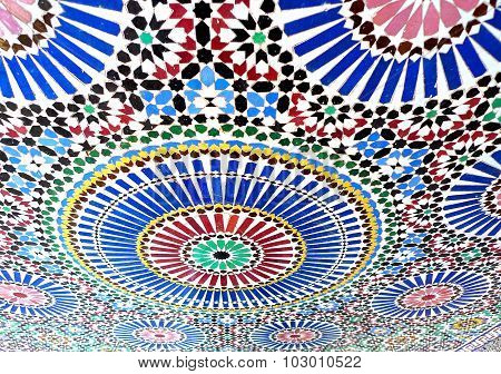 Beautiful colored tiles