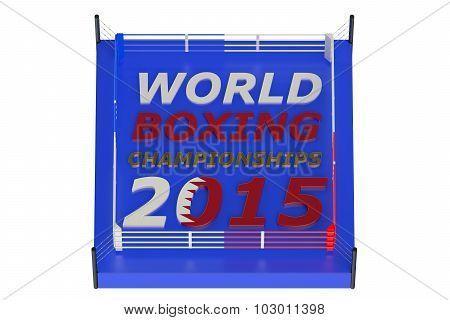 Boxing Championship 2015 Doha Concept