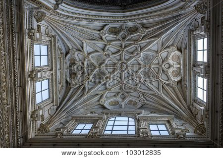 Interior Of Mezquita-catedral, Unesco World Heritage Site, Cordoba, Spain
