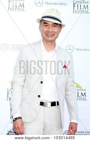 LOS ANGELES - SEP 26:  Ed Moy at the Catalina Film Festival Saturday Gala at the Avalon Theater on September 26, 2015 in Avalon, CA